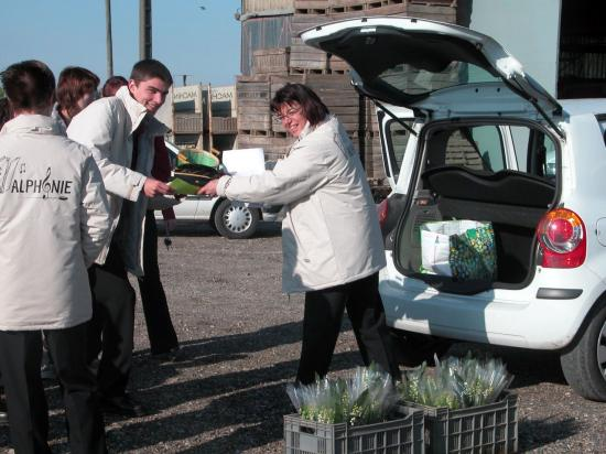 1er Mai : vente du muguet