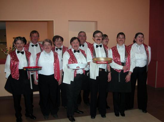 Concert de printemps : le staff
